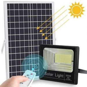 200W Solar floodlight